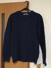アーバンリサーチ    紺色  セーター