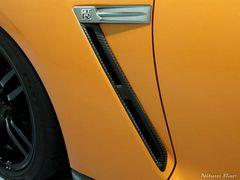 日産 リアル カーボン フェンダーダクト R35 GT−R GTR