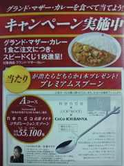 カレー CoCo壱番屋 ココイチ 限定 佐藤オオキ コラボ デザイン スプーン 非売品