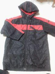 プーマPUMAベンチコート130サイズ黒