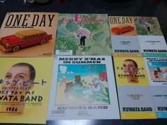 KUWATA BAND  4シングルCD&レコードセット