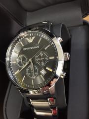 新品 エンポリオ アルマーニ 腕時計 AR2434 クロノ