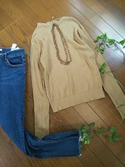 〇AZUL by moussy〇ボートネックリブカットソー*・°