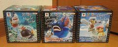 ワンピース デスクトップシアターフィギュア SEA ANIMALUS 全3種セット