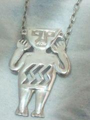 ペルー PERU STERLING SILVER 925  シルバー ネックレス