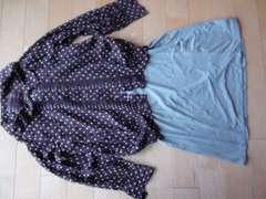 sunaokuwahara可愛いドットシャツ