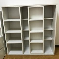 本棚 スライド式 コミックラック ブックラック 書棚