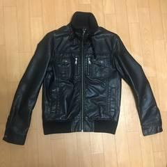レザージャケット ブラック RUSH HOUR Mサイズ