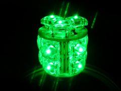 レア物 LEDバルブ 24V シングル グリーン(緑)2ヶセット
