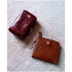 マルチポーチ 小銭入れ付 お財布★コスメ 携帯 デジカメケース