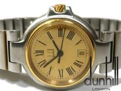 良品 1スタ★ダンヒル/dunhill ミレニアム【スイス製】腕時計