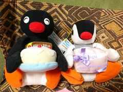 PINGU/ピングー/ピングー/ぬいぐるみ/生誕20周年/2000年/2体セット/レア★