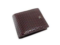 アーノルドパーマー 牛革 二つ折り財布 4AP2979 チョコ