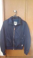 モンクレール ジャケット 1 濃紺色 灰色 上着 MONCLER