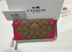 新品 COACH/コーチ長財布 F53780 レディース財布