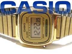 激レア CASIO ヴィンテージ【チプカシ】デジタル GOLD腕時計