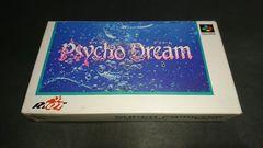 SFC Psycho Dream(サイコドリーム) / 箱・説明書付き スーパーファミコン