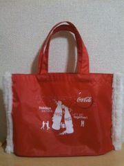 コカコーラ ノベルティ クリスマスバッグ防水 非売品