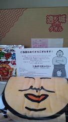 懸賞当選☆ベビースター♪逸ノ城ドデカバスタオル☆