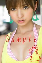 【送料無料】 AKB篠田麻里子 写真5枚セット<サイン入>31