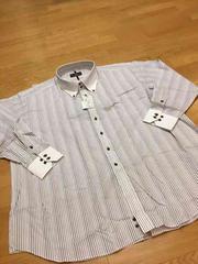 ALFREDO  BERETTA  デザインドレスシャツ  size8LB  →4XL