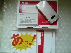 *N-08A/N08A*  ほぼ新品未使用品☆彡.。.:*★  *ピンク