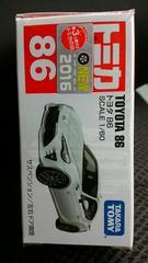 トミカ86   トヨタ86 初回箱 箱外ビニール未開封 新品