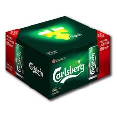 WEB限定 カールスバーグ 缶ビール&非売品グラス  お歳暮に