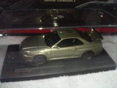 京商1/43 スカイラインR34 ニュル Mスペック