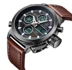 メンズ腕時計デジタルアナログスポーツファッション