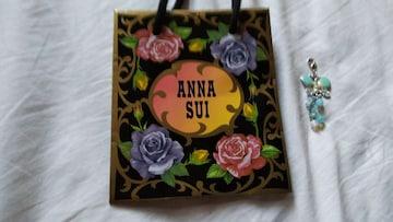 アナスイ スカイブルー ペン ダントヘッド ANNA SUI&ショップ袋