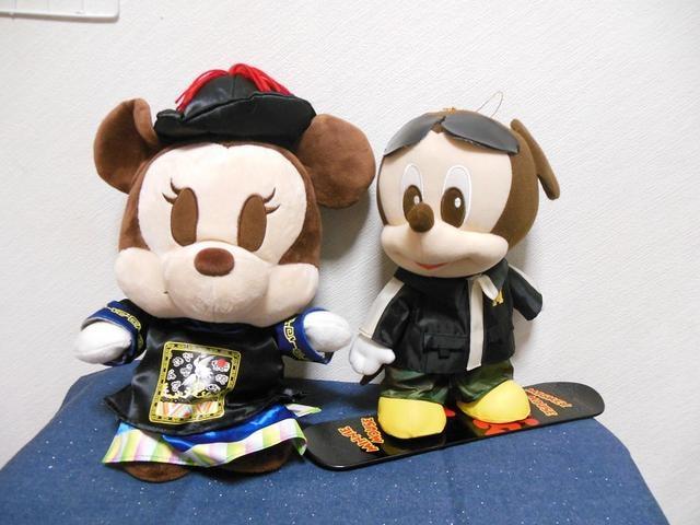 ディズニー ミッキー&ミニー コスプレぬいぐるみ セット (24)  < おもちゃの