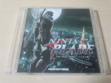 CD「NINJA BLADE THE NINJA SPIRIT〜ニンジャ魂」Xbox360★