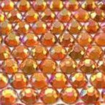 ● 5mm ● デコ用ストーン  2000粒 オレンジ