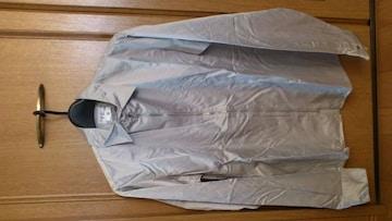 訳あり激安90%オフアニエスb、長袖シャツ(美品、銀、フランス製、M)