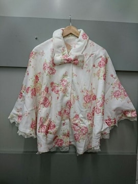 LIZ LISA☆薔薇柄ポンチョ