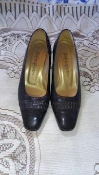 �Hオシャレな黒の靴