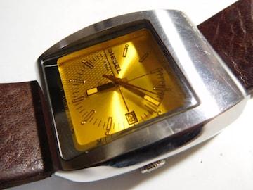 ディーゼル 腕時計クォーツ 製 動作確認済!