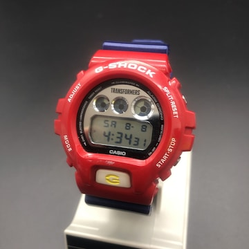 CASIO TRANSFORMERS G-SHOCK DW-6900FS