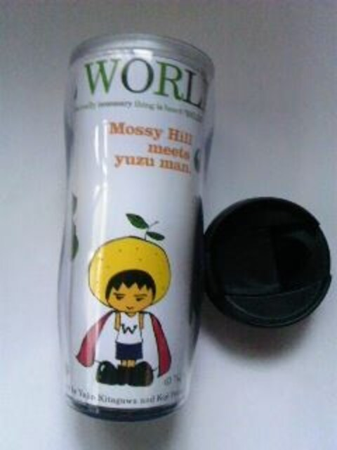 ゆず TOUR 2008 WONDERFUL WORLD タンブラー ボトル 未使用品  < タレントグッズの
