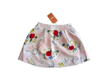 新品 定価6300円 ダズリン DazzliN フレア ミニ スカート S
