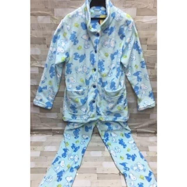 『スヌーピー』新柄ふわふわ&なめらか素材子供パジャマ < 女性ファッションの