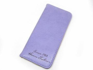 超薄型 ヌバックレザー風 長財布 パープル 2/AG1