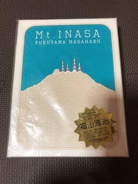 福山雅治○Mt.INASA ☆ 初回限定盤 DVD。新品未使用。