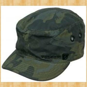 VOLCOM ボルコム SCOUT ミリタリーキャップ CAP ハット 帽子