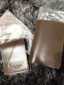ピーターラビット牛革オリジナルメモパッド&パスポートケース