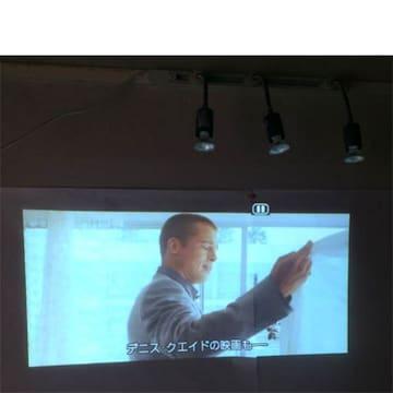 在庫限り【送無料】Panasonic高性能プロジェクター【美品/使用少