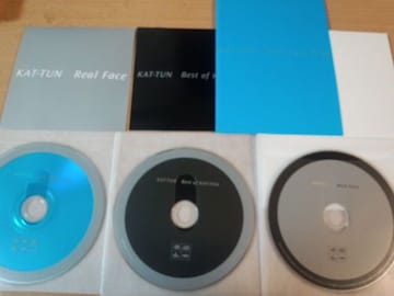 DVD「Real Face/Best of KAT-TUN/Real Face Film」●