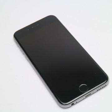 ●超美品●SIMフリー iPhone6 16GB スペースグレイ●