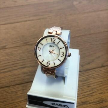即決 GEDI 腕時計 H-81012 ピンクゴールド